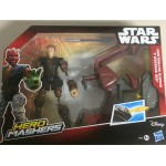 "MARVEL STAR WARS MASHERS SITH SPEEDER & DARTH MAUL ACTION FIGURE 6"" 15 cm HASBRO B3832"