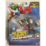 MARVEL SUPER HERO MASHERS MICRO SPIDER MAN - SPIDER MOBIL figure + vehicle pack B6684