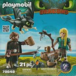 PLAYMOBIL DRAGONS 70040 HICCUP AND ASTRID WITH BABY DRAGON