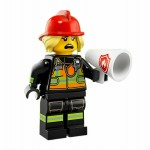 LEGO MINIFIGURES 71025 SERIE 19 08 LADY FIRE FIGHTER