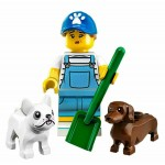 LEGO MINIFIGURES 71025 SERIE 19 09 DOG SITTER