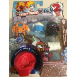 d2 TRANSFORMERS BOTBOTS series 1 SUGAR SHOCKS 5 Pack figures Habro E4136