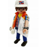 PLAYMOBIL FI?URES 70369 SERIE 18 07 SPACE WARRIOR