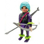 PLAYMOBIL FI?URES 70370 SERIE 18 10 FEMALE HUNTER WITH BOW AND ARROW