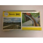 plastic model kit scale H0 MKD 518 GIRDER BRIDGE ON STONE PIERS new in open and damaged box COLLECTION ALAIN PRAS