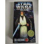 "STAR WARS 12"" ACTION FIGURE OBI WAN KENOBI Canadian market edition Collector series"