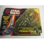 STAR WARS ELECTRONIC COMM TALK READER damaged package