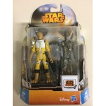 "STAR WARS 3.75"" - 9 cm ACTION FIGURE BOSSK - IG-88 double pack Hasbro MS 11"