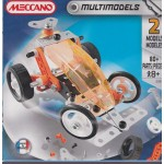 MECCANO 2555 BUGGY MULTIMODELS 2 MODELS 80 PIECES