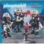 PLAYMOBIL CITY ACTION 5366 FIRE BRIGADE RESCUE CREW